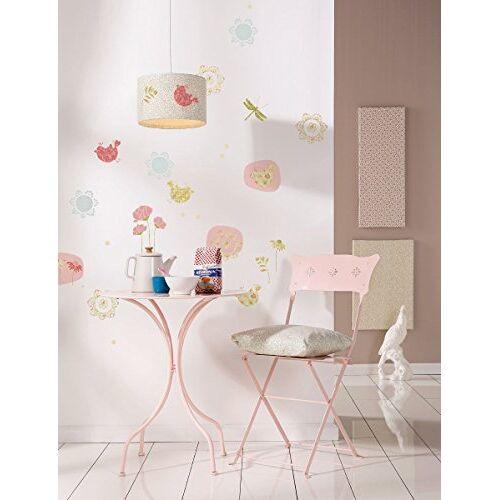 Komar 19708h Deco-sticker patchwork, bont, 50 x 70 cm, muurschildering, muurtattoo, stickerset, muursticker, muursticker, muursticker
