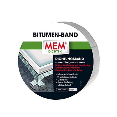 MEM Bitumenband aluminium 5 cm x 10 m