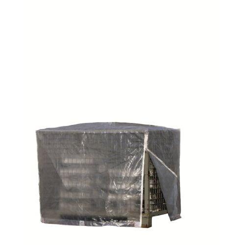 Rainexo Rain Exo RX120-GIB-T afdekhoes voor rasterbox, 125 x 85 x 98 cm, 120 g/m2 zonder ritssluiting, transparant