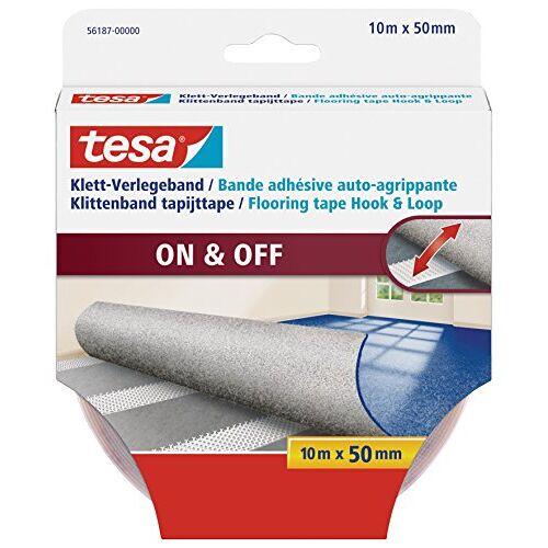 tesa Klittenband voor tapijten, 10 m x 50 mm