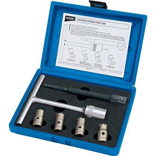 Draper 30823 Diesel Injector Zittingsnijder Set 6-delig