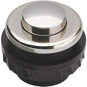 Grothe 1522155 Grot NI vernikkelde belknop, ronde knop huls MSVN, Protact 370, nikkel