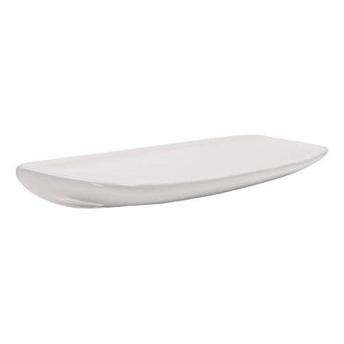 AquaSu 02100 5 badkamerplanken   50 cm   wit   plank   keramische plank   doucheplank   wandplank   badkamerrek   extra glad oppervlak met overloopbeveiliging
