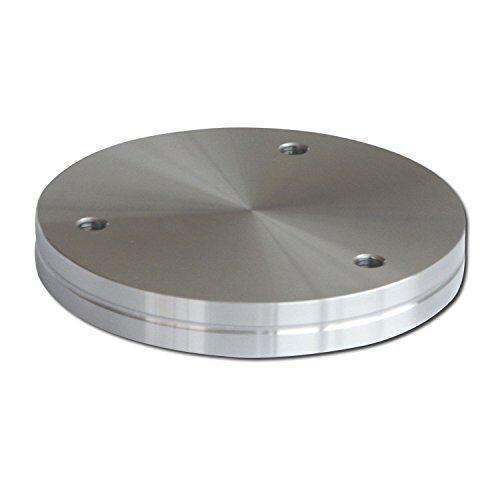 EBB Glasadapter voor barconsole IRLAND en BRINDSI   roestvrij staal   ø 90 mm   1 stuk