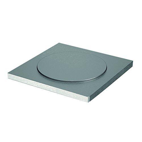 EBB Glazen adapter voor barconsole JUMBO   roestvrij staal   ø 60 mm   1 stuk