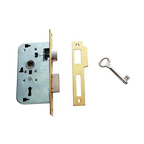 Tesa Assa Abloy 200230HL insteekslot voor houten deuren brons (messing) ingang 30 mm 2002
