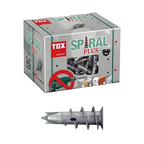 TOX gipsplaat plug spiraal Plus 37, 50 stuks, 06800021