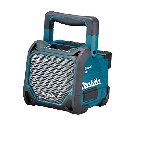 Makita DMR202 Bluetooth-luidspreker, 18 V, zwart, blauw