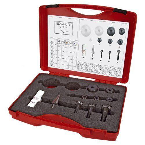 Exact 30521 6-Screw-Hole perforaties met buis- en plaatboren/boren/ 3-Draw-in bouten