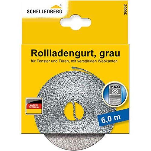 Schellenberg 36002 rolluikriem 23 mm x 6,0 m MAXI-systeem, rolluikriem, riem, rolluikband