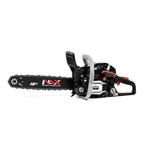 "NAX POWER PRODUCTS 300C motor 45 cm3 1,6 kW Briggs & Stratton gelicentieerd product 16 ""zaagblad 40 cm anti-terugslagsysteem Low Kickback (lage terugslag) benzinekettingzaag"