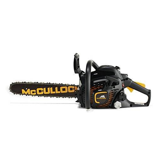 McCulloch CS 35S Benzine Kettingzaag: 35cc, 14 Inch Bar Lengte, 52 Aandrijving Links, Anti-Vibratie Systeem, Laag Gewicht, Volledig Geassembleerd