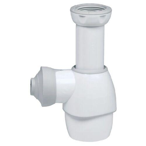 Wirquin 31180002 sifon voor wastafel, wit/grijs