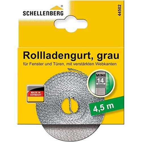 Schellenberg 44502 rolluikriem 14 mm x 4,5 m systeem MINI, rolluikriem, riem, rolluikband