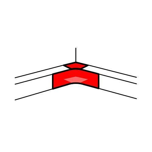 Legrand kanalen dlp aluminium hoek schakelaar aluminium 50 x 105 mm