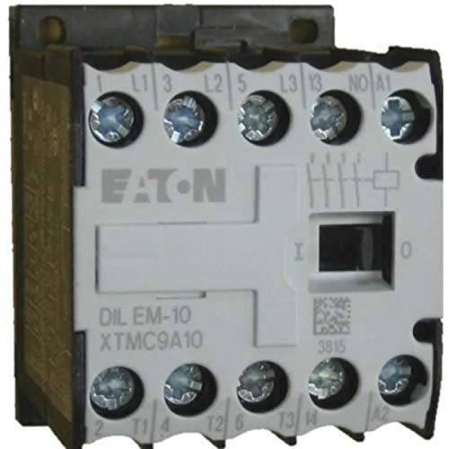 EATON 021417 vermogensbescherming, 3-polig + 1 sluiter, 4 kW/400 V/AC3