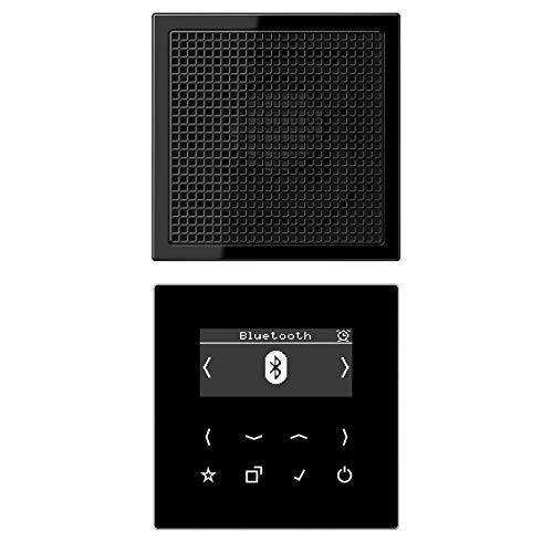 Jung Smart Radio Dab + Bluetooth, set Mono S Ls luidspreker zwart