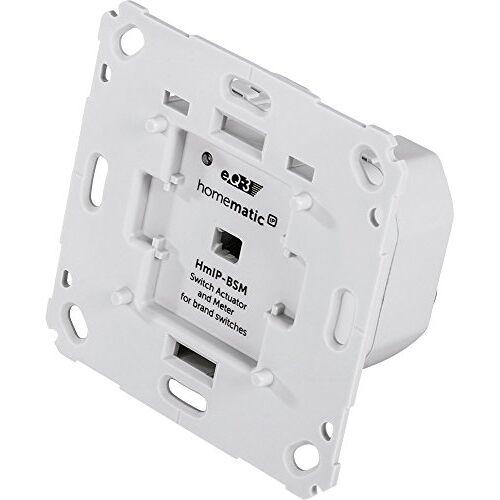 Homematic IP Smart Home 142720A0 Schakelaar, Merkschakelaar, Inbouw, App Besturing