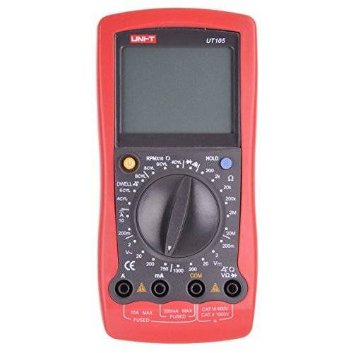 UNI-T Meetinstrument, UT105 multimeter AC/DC meetinstrument