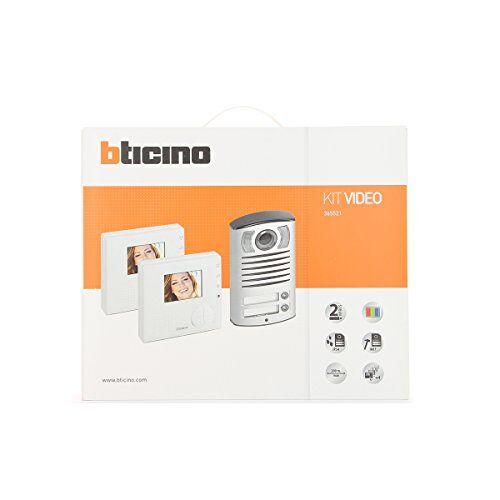 Bticino Villa 365521 2-weg handenvrije draadvideofoons Kit -