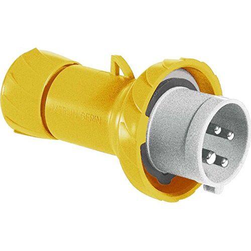 Schneider PKE32M714 CEE stekker, schroefklemmen, 32A, 3p+E, 100-130 V AC, IP67