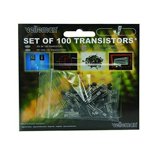 Velleman K/TRANS1 Transistor Set, meerkleurig, 100 stuks
