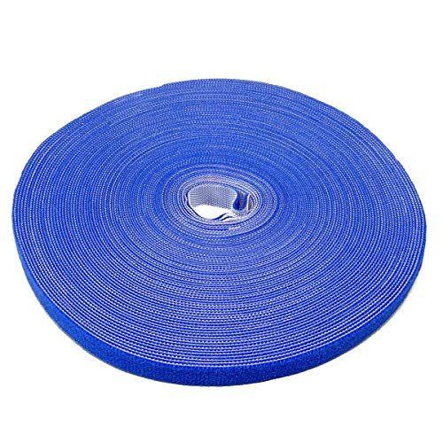 Label-the-cable kabelbeheerbinders tape, verstelbaar, herbruikbaar/kabelbinder/haak en lus snoerorganisator, draadbeheer