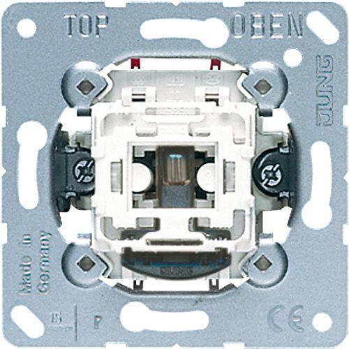 Jung 1 x tuimelschakelaar 502KOU 2-polig uit, 250 V.