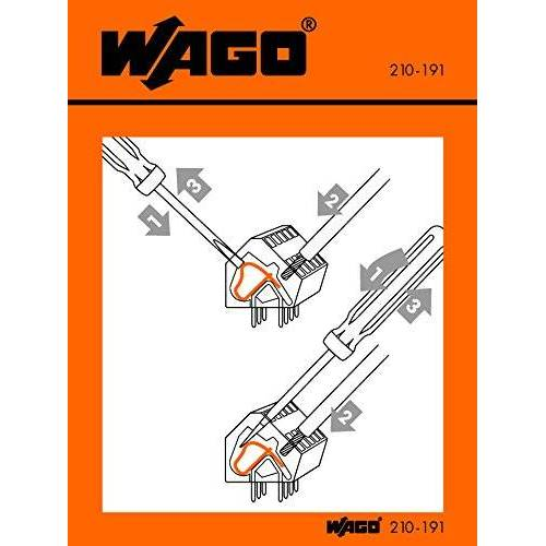 WAGO gebruikssticker 60 x 63 mm, 210-406