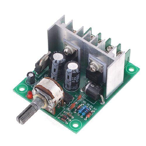 sourcingmap xh-p1209 5%-95% 6,5-20 V 10 A temperatuur modulator groen zilver tint