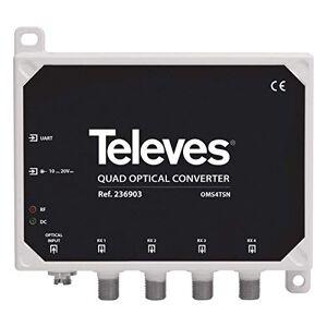Televes 236903 Optical Converter rf Quad fm/dab/UHF-fi