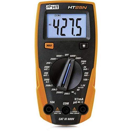 HT-Instruments HT25N compacte multimeter met batterijtester