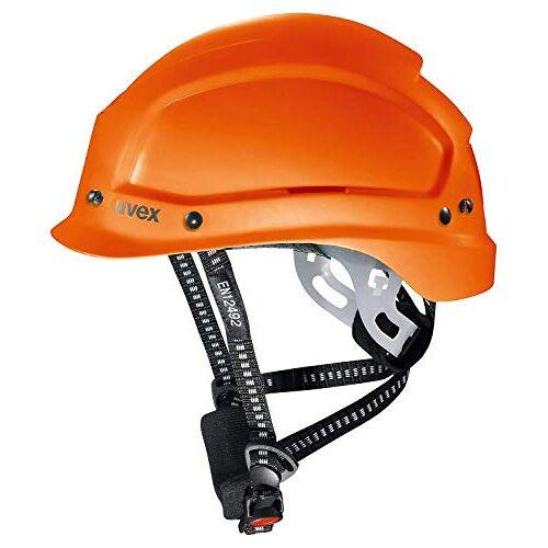 Uvex Pheos Alpine geventileerde veiligheidshelm bouwhelm of bergbeklimmers helm (oranje)