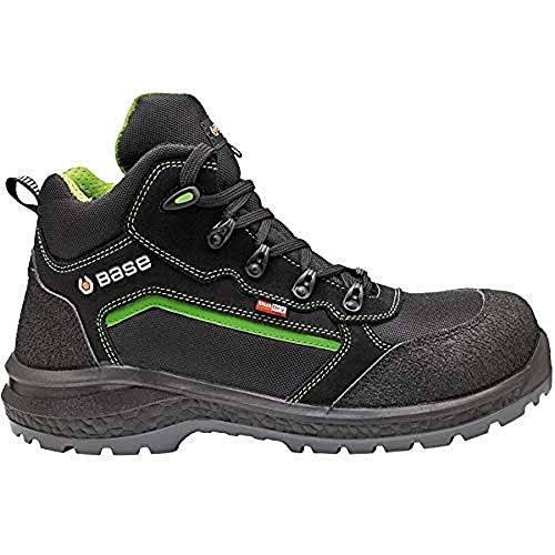 BASE Protection BAS-B898-12 waterdichte veiligheidslaarzen gesloten Size 10 zwart/groen