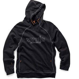 Scruffs T54511 Werkkleding Hoodie, Zwart, Medium