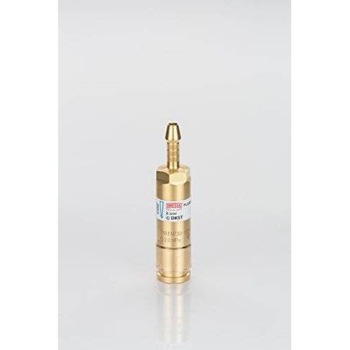 IBEDA veiligheidsvoorziening DKST 6,3 mm zuurstof