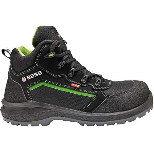 BASE Protection BAS-B898-12 waterdichte veiligheidslaarzen gesloten Size 7 zwart/groen