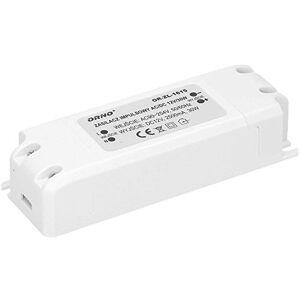 Orno LED Transformator 12v (90v-254v naar 12v) Voor G4 MR11 MR16 GU5.3 LED lamp of Light Strip Driver (6W-50W) IP20 (30W)