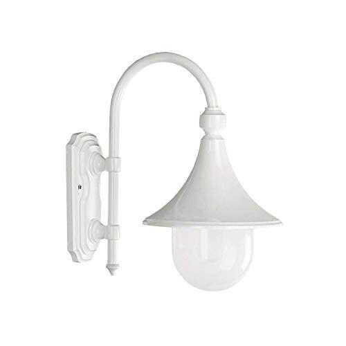 Cristher TROM wandlamp, e-27, 60 W, IP-43, wit