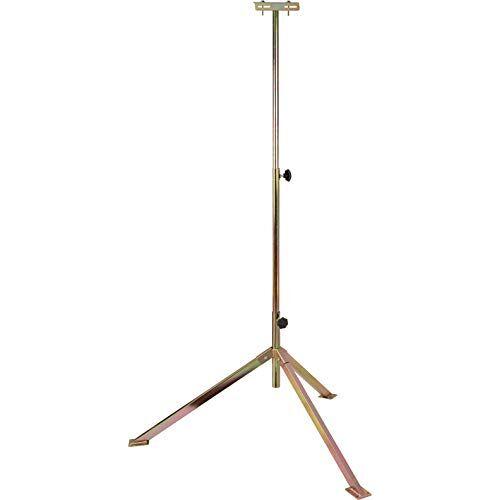 Brennenstuhl Telescopisch statief TS 170 / stabiel statief voor het opnemen van bouwspots (in hoogte verstelbaar van 75 170 cm, max. draagvermogen 7 kg, voeten met bodembevestigingsplaaten)