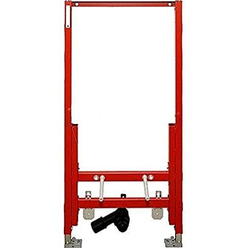 TECE Profiel Bidetmodule (voor aan de muur hangende bidet, hoogte 1120 mm, montageframe, montagebouten, afvoeraansluiting, aansluitboog) 933000
