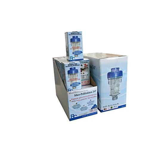 Cr RC BOX-PH10B Minifilter Silicohosphat voor huishoudelijke apparaten x 3/4 inch (20 stuks)