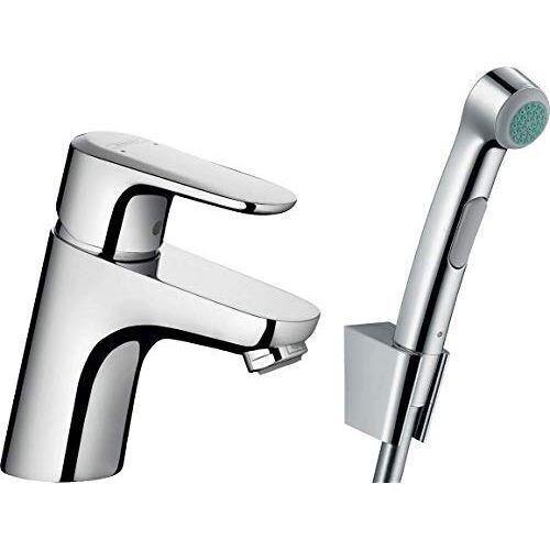 Hansgrohe 32126000 Handdouche WC voor intieme reiniging bidets, zilver,