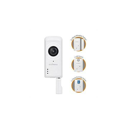 EDiMAX IC-5170SC Smart Home veiligheidsuitrusting, wifi, Smart Home veiligheidsuitrusting, wit, kabel, wifi, 802.11b, 802.11 g, Wi-Fi 4 (802.11n), 2,4 GHz, 5 V)