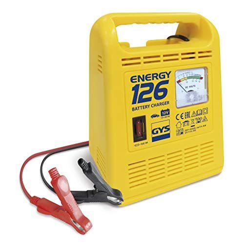 GYS Batterijlader 12 V, 15-60 Ah, Energy 126