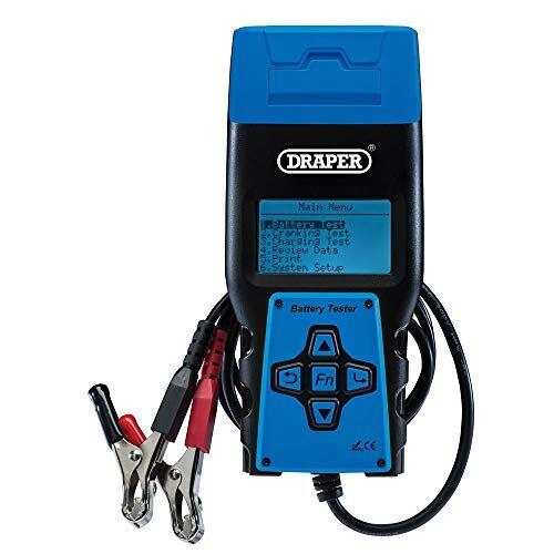 Draper 92445 Batterij Tester met Printer