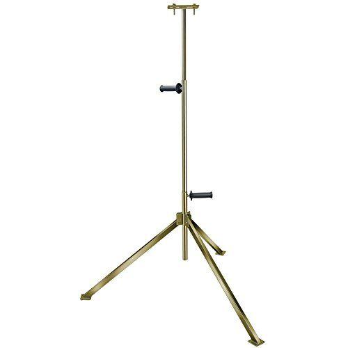Brennenstuhl Statief voor bouwspots, stabiel telescopisch statief voor schijnwerpers (voor het opnemen van 1 spot, in hoogte verstelbaar tot 2,5 meter)