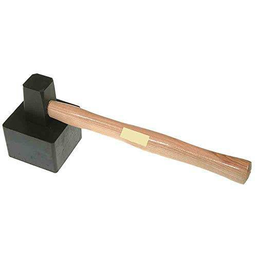 lsr tools 30170150 plaathouder hamer vierkant 1500 g, met gevulkaniseerde kop