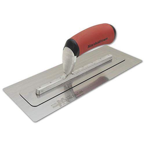 Marshalltown PermaFlex vlakspaan met zeer flexibel blad, lichtgewicht roestvrijstalen spaan, ideaal voor gipsplaten en stukadoors, afmeting spaan: 279x127 mm