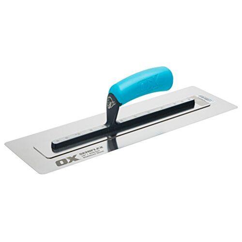 OX Tools OX Pro Semi Flex RVS Troffel 16in/405 x 125 mm
